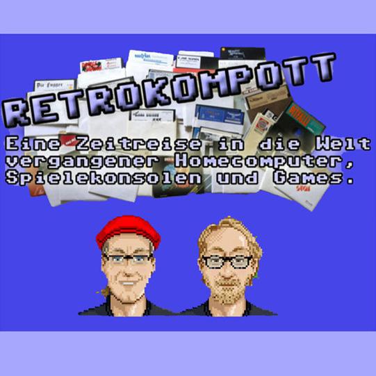 RETROKOMPOTT (Nullnummer - EA) - eine Zeitreise in die Welt vergangener Homecomputer, Konsolen und Games