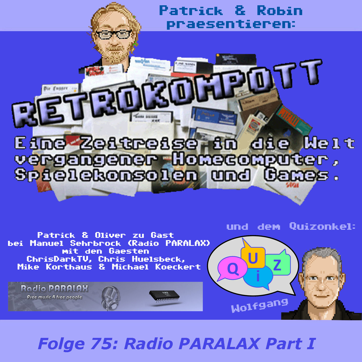 RETROKOMPOTT 075 Crossover Radio PARALAX Part I (28.09.2018)